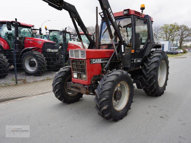 Traktor tip Case IH 7545 XL + Quicke Frontlader, Gebrauchtmaschine in Borken (Poză 1)