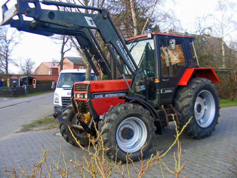 Traktor des Typs Case IH 844 Frontlader+Frontzapfwelle+Niedrigkabine, Gebrauchtmaschine in Kutenholz (Bild 1)