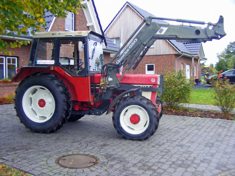 Traktor tip Case IH 844 + Frontlader, Gebrauchtmaschine in Kutenholz (Poză 1)