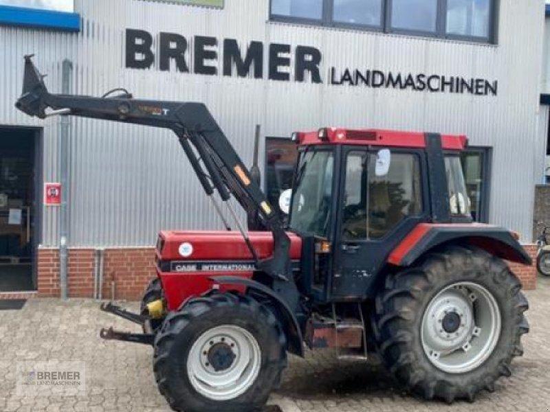 Traktor des Typs Case IH 844 XL Profi Grün, Baas Frtl Serie T, FH und FZ: Einer der letzten Neusser!, Gebrauchtmaschine in Asendorf (Bild 1)
