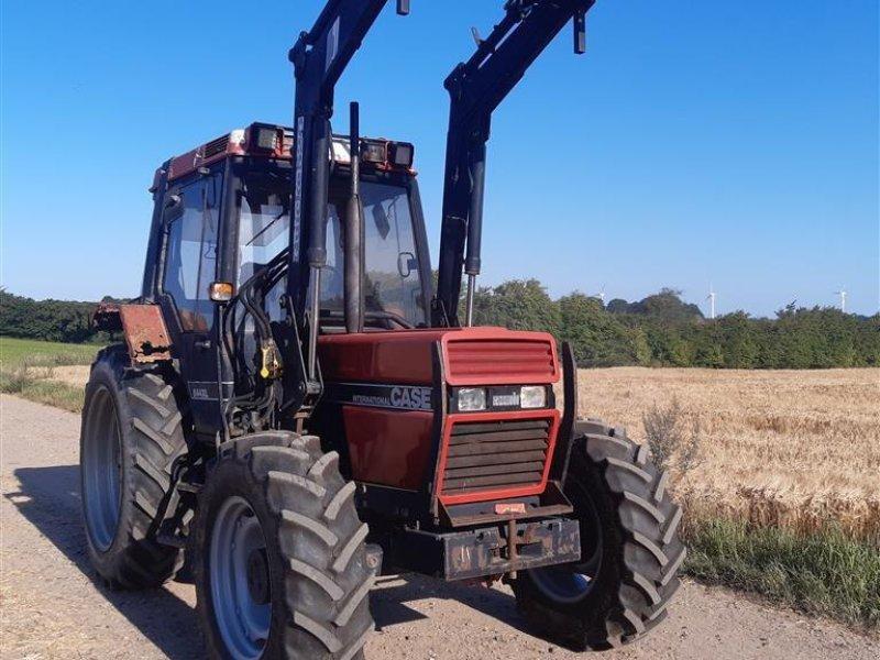 Traktor des Typs Case IH 844 XLA med frontlæsser Bremseventil bredde dæk, Gebrauchtmaschine in Skive (Bild 1)