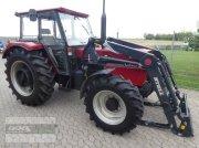 Traktor a típus Case IH 844S Allr. mit fabrikneuen Stoll Ind-Lader. Druckluft, Niedrigkabine. 5200 Std., Gebrauchtmaschine ekkor: Langenzenn