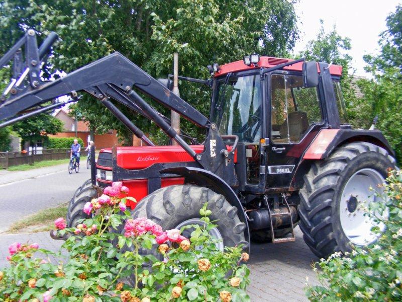 Traktor des Typs Case IH 956 Frontlader+Druckluft+40 KMH+Fronthydraulik, Gebrauchtmaschine in Kutenholz (Bild 1)