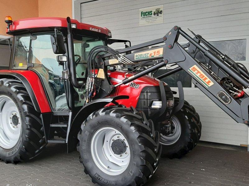 Traktor типа Case IH CS 100 Pro mit Stollindustriefrontlader und Druckluft, Gebrauchtmaschine в Laaber (Фотография 1)