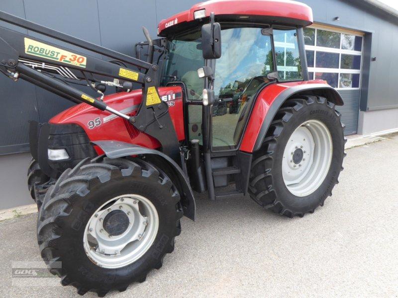 Traktor typu Case IH CS 95 Allr. Mit Stoll Ind-Lader, Druckluft, EHR, Lastschaltung. Gepflegt!!, Gebrauchtmaschine w Langenzenn (Zdjęcie 1)