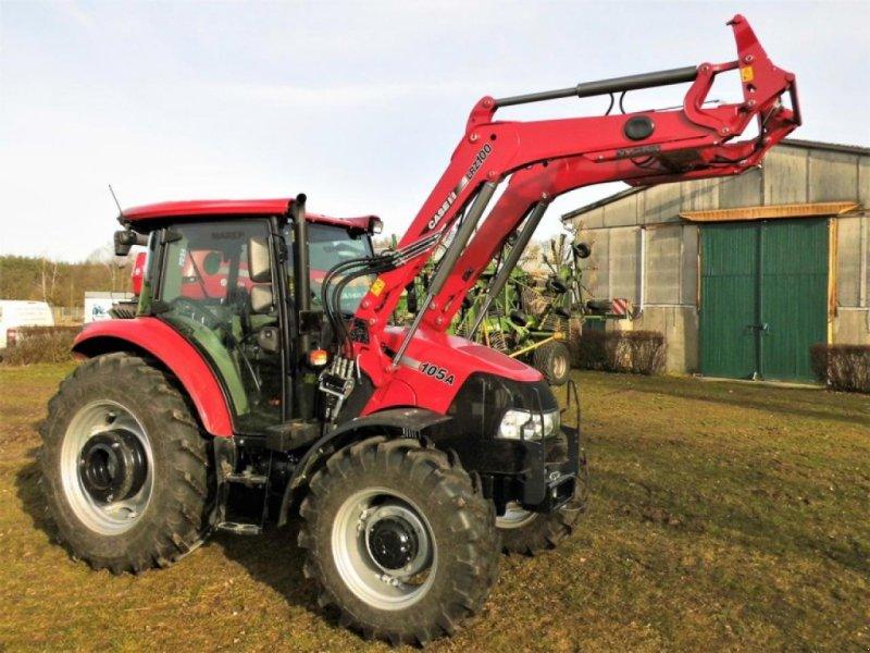 Traktor des Typs Case IH FARMALL 105 A, Gebrauchtmaschine in Vehlow (Bild 1)