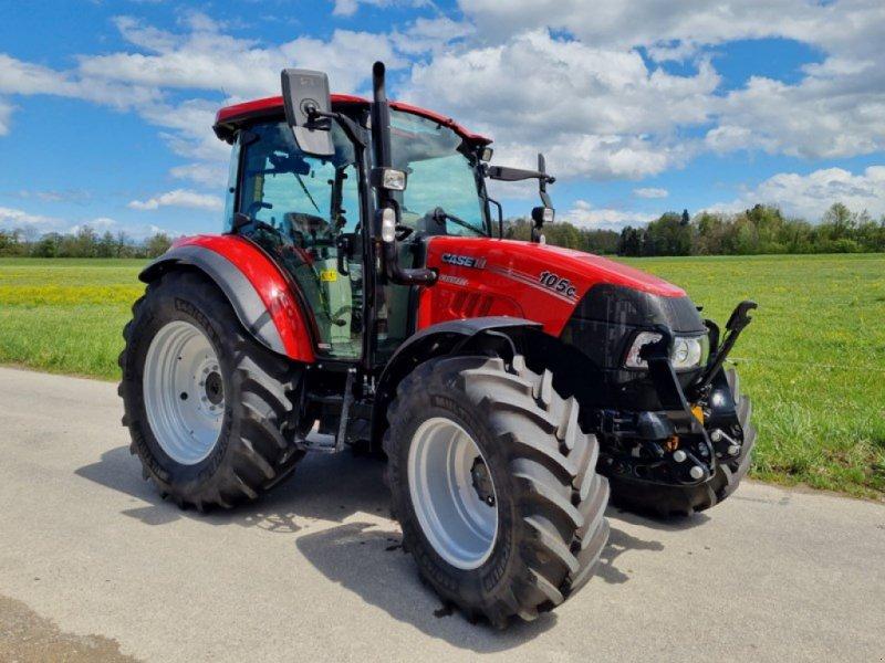 Traktor des Typs Case IH Farmall 105 C, Vorführmaschine in Frauenfeld (Bild 1)