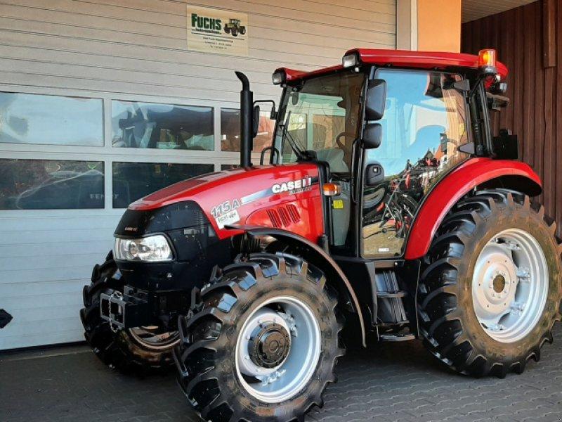 """Traktor des Typs Case IH Farmall 115A mit 927 Bstd. """"Top-Zustand"""", Gebrauchtmaschine in Laaber (Bild 1)"""
