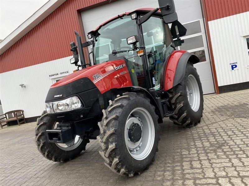 Traktor typu Case IH Farmall 75C EKSTREMT LAVT TIMETAL OG AIRCON!, Gebrauchtmaschine w Aalestrup (Zdjęcie 1)