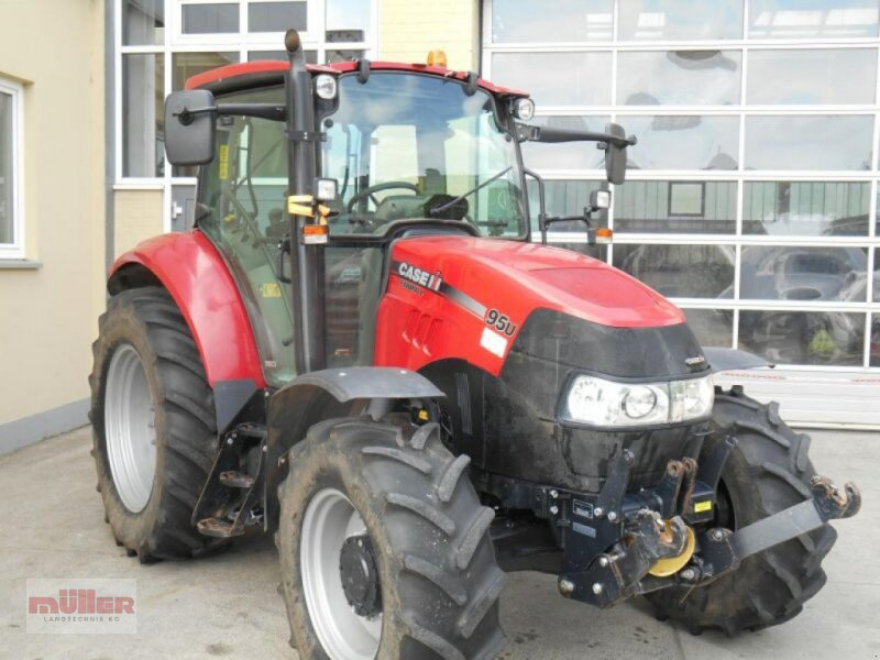 Traktor des Typs Case IH Farmall 95 U, Gebrauchtmaschine in Holzhausen (Bild 1)