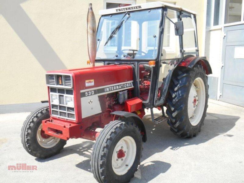 Traktor des Typs Case IH IHC533, Gebrauchtmaschine in Holzhausen (Bild 1)