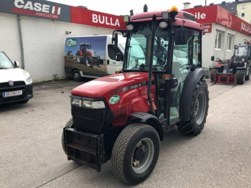 Traktor des Typs Case IH jx 1075 v komfort 1, Gebrauchtmaschine in SIERNING (Bild 1)