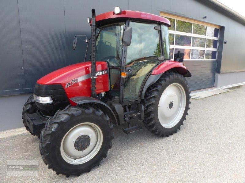 Traktor des Typs Case IH JX 70 Allrad im sehr gepflegtem Originalzustand, Gebrauchtmaschine in Langenzenn (Bild 1)