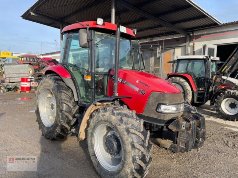 Traktor des Typs Case IH JX 80 A, Gebrauchtmaschine in Gottenheim (Bild 1)