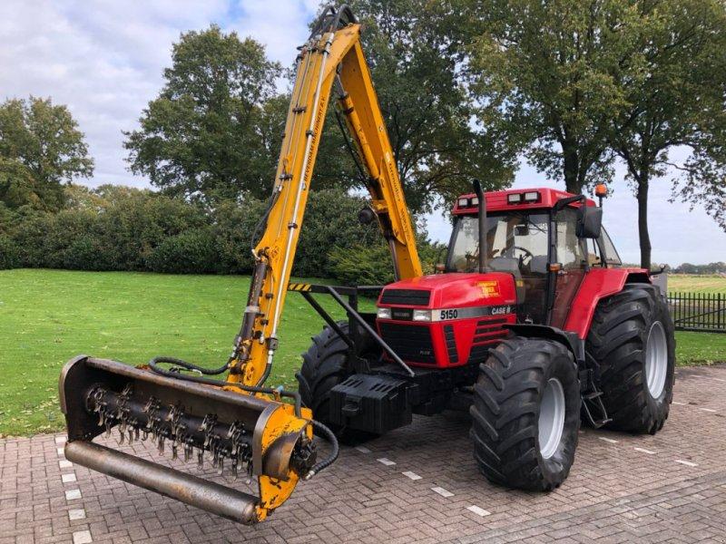 Traktor tip Case IH Maxxum 5150 Herder MBK 135S, Gebrauchtmaschine in Vriezenveen (Poză 1)