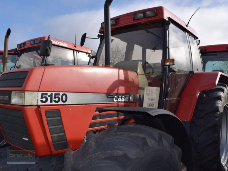 Traktor des Typs Case IH Maxxum 5150 Plus, Gebrauchtmaschine in Bremen (Bild 1)