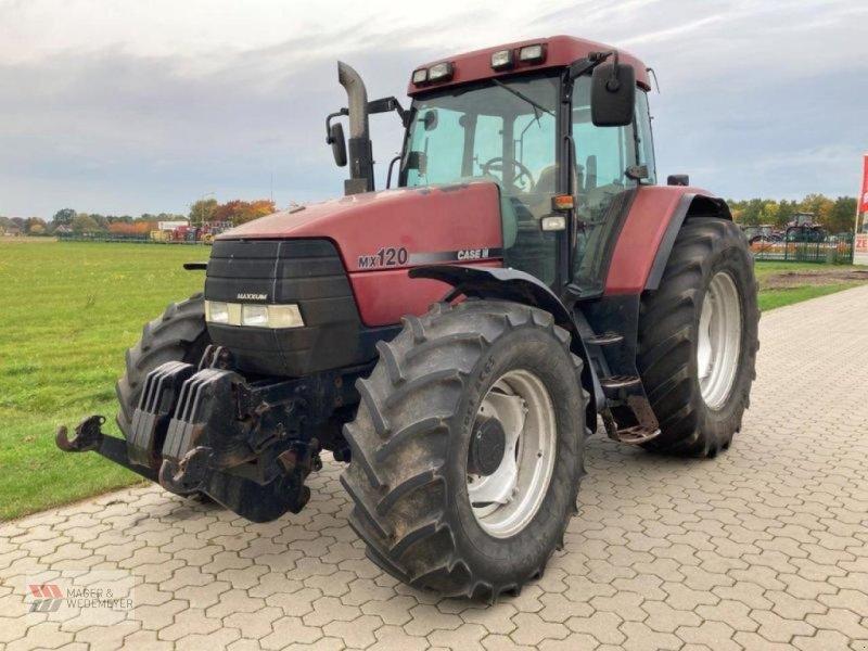 Traktor des Typs Case IH MX 120 MIT FRONTKRAFTHEBER, Gebrauchtmaschine in Oyten (Bild 1)