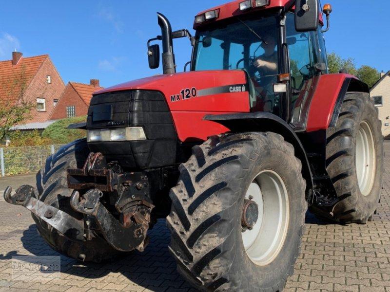 Traktor des Typs Case IH MX 120, Gebrauchtmaschine in Bramsche (Bild 1)