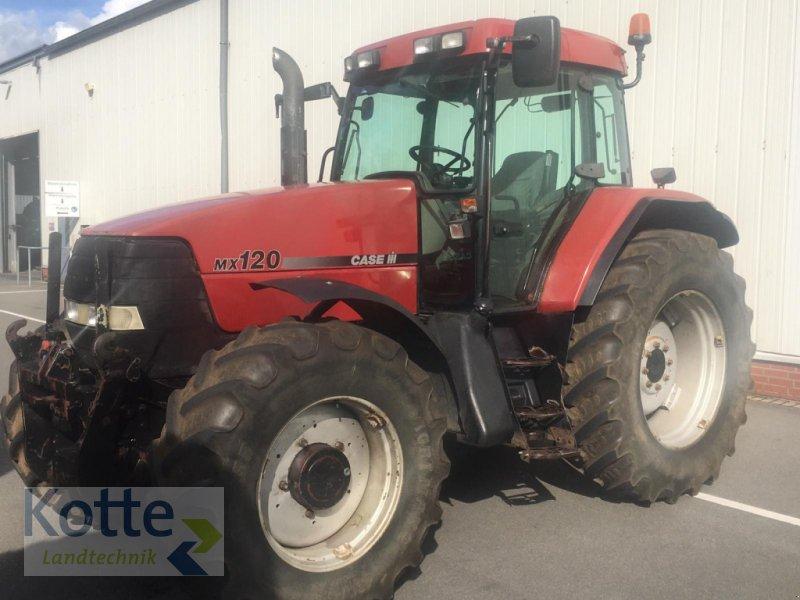 Traktor des Typs Case IH MX 120, Gebrauchtmaschine in Rieste (Bild 1)