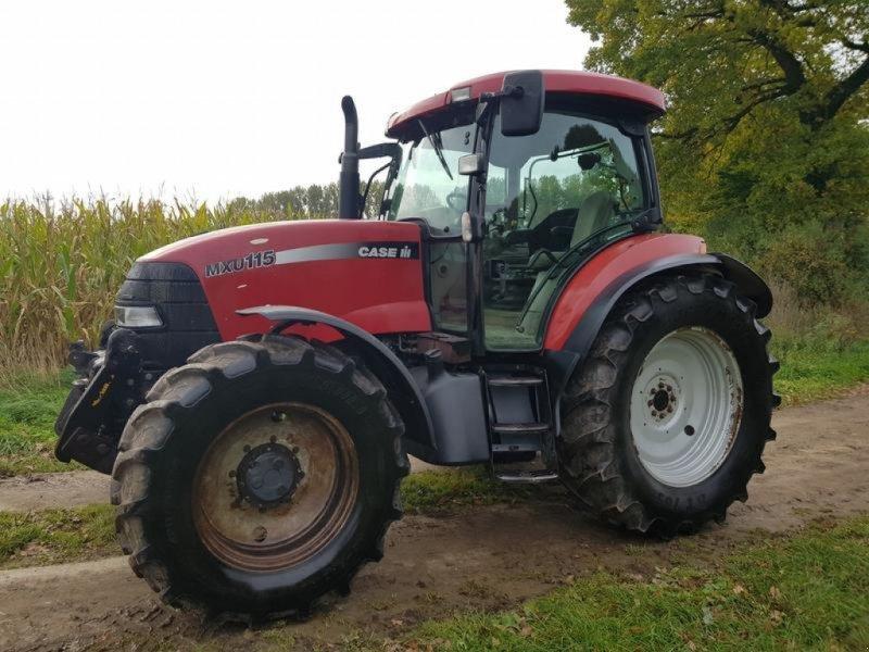 Traktor a típus Case IH MXU 115 mit Frontzapfwelle, Gebrauchtmaschine ekkor: Honigsee (Kép 1)