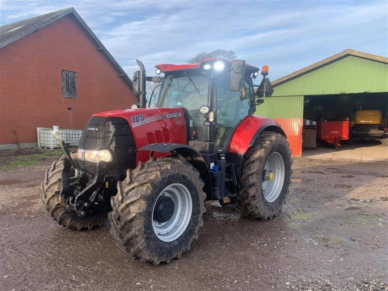 Traktor a típus Case IH Puma 165 CVX Som ny, Gebrauchtmaschine ekkor: Løgstør (Kép 1)