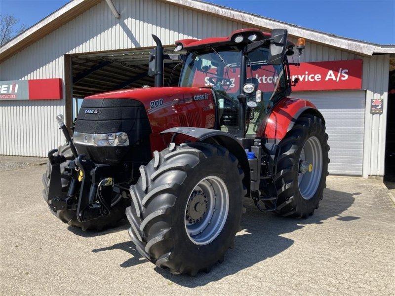 Traktor des Typs Case IH Puma 200 FPS GPS klar., Gebrauchtmaschine in Spøttrup (Bild 1)