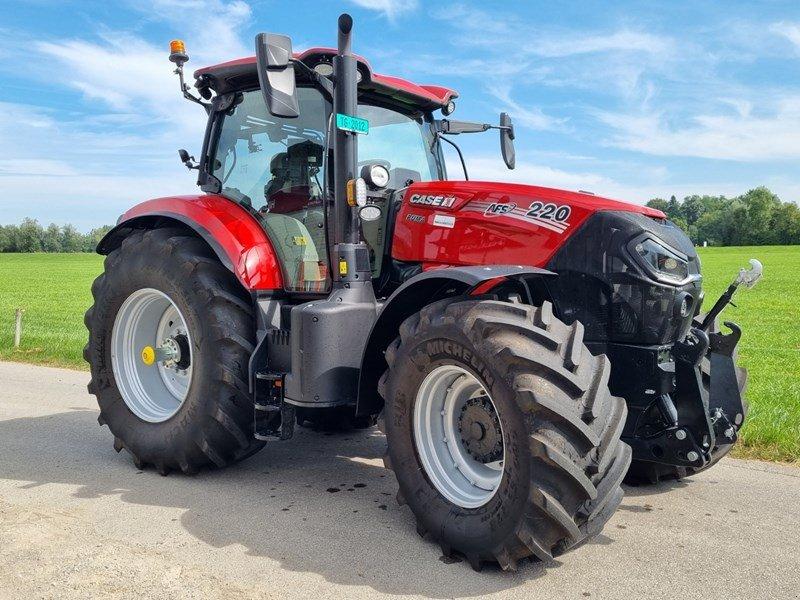 Traktor tip Case IH Puma 220 CVX, Ausstellungsmaschine in Frauenfeld (Poză 1)