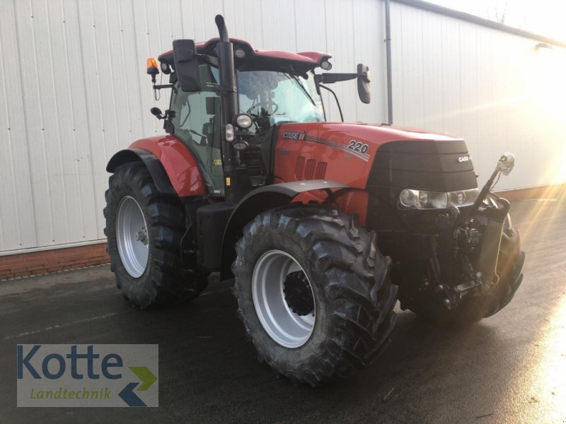 Traktor des Typs Case IH PUMA 220 CVX, Gebrauchtmaschine in Rieste (Bild 5)