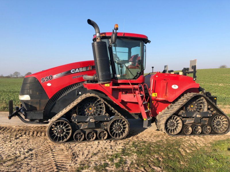 Traktor des Typs Case IH Quadtrac 550, Gebrauchtmaschine in Klempau (Bild 1)