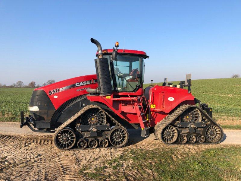 Traktor des Typs Case IH Quadtrac 550, Gebrauchtmaschine in Klempau (Bild 4)