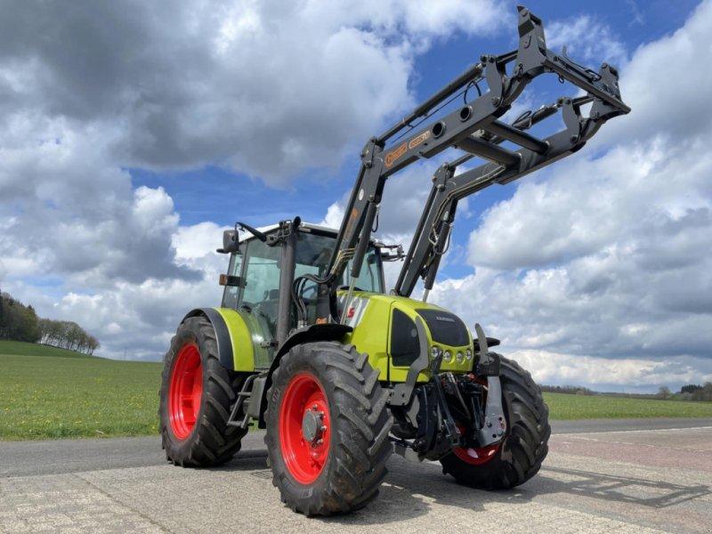 Traktor des Typs CLAAS 456 RX mit Frontlader, Gebrauchtmaschine in Steinau  (Bild 1)
