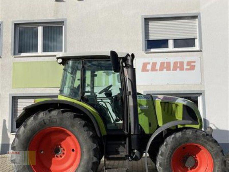Traktor des Typs CLAAS ARES 557, Gebrauchtmaschine in Aurach (Bild 1)