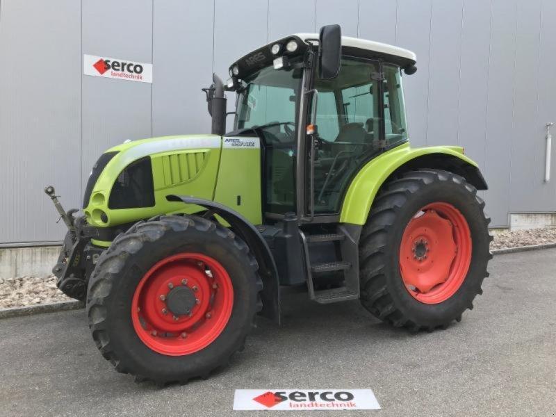Traktor типа CLAAS ARES 557, Gebrauchtmaschine в Oberbipp (Фотография 1)