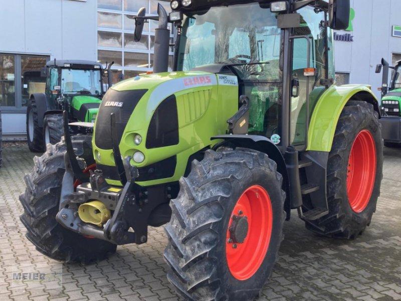 Traktor des Typs CLAAS Ares 577 ATZ, Gebrauchtmaschine in Delbrück (Bild 1)
