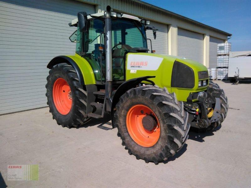 Traktor des Typs CLAAS ARES 656 RX, Gebrauchtmaschine in Aurach (Bild 2)
