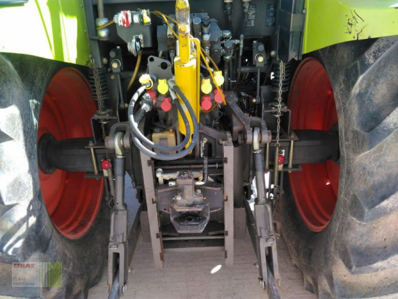 Traktor des Typs CLAAS ARES 656 RX, Gebrauchtmaschine in Aurach (Bild 8)