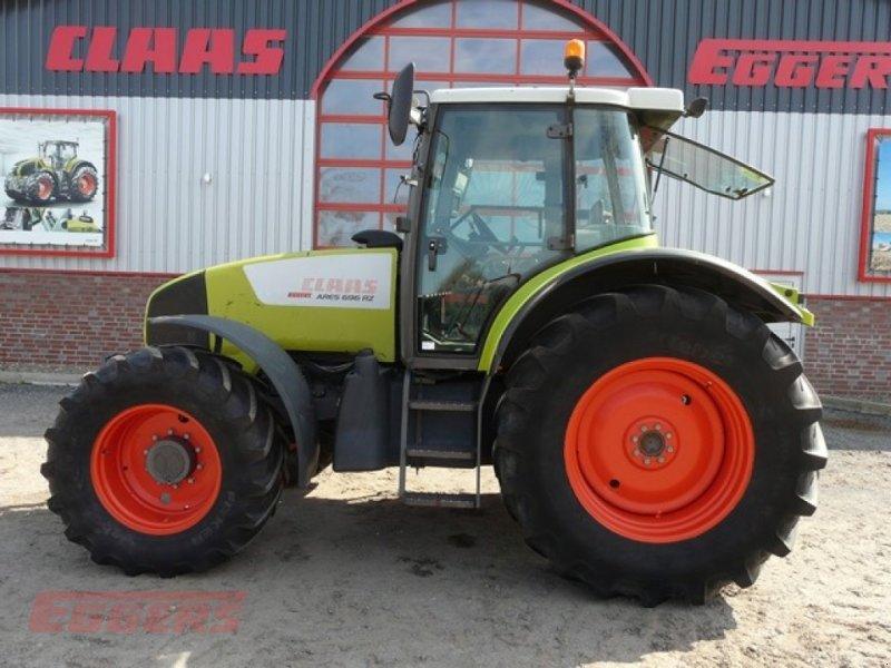 Traktor типа CLAAS ARES 696 RZ, Gebrauchtmaschine в Suhlendorf (Фотография 1)
