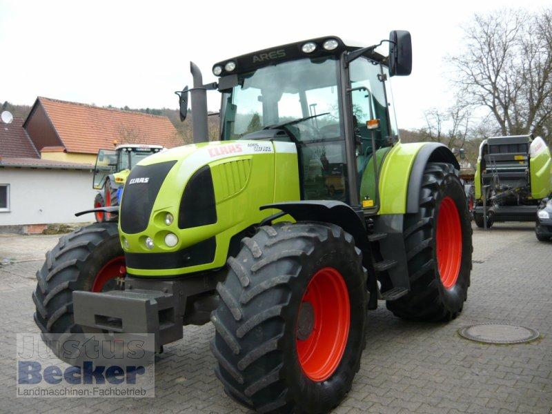 Traktor типа CLAAS Ares 697 ATZ, Gebrauchtmaschine в Weimar-Niederwalgern (Фотография 1)