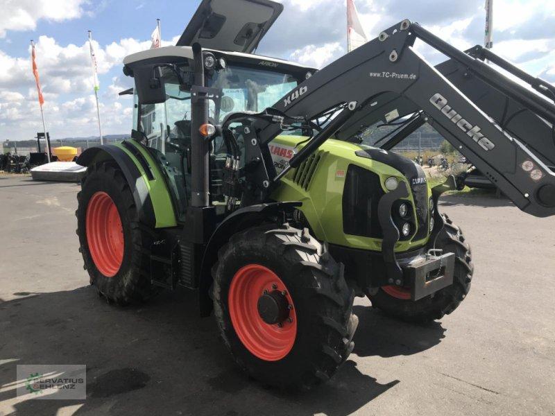 Traktor des Typs CLAAS ARION 410 90PS inkl. Frontlader, Gebrauchtmaschine in Prüm (Bild 1)