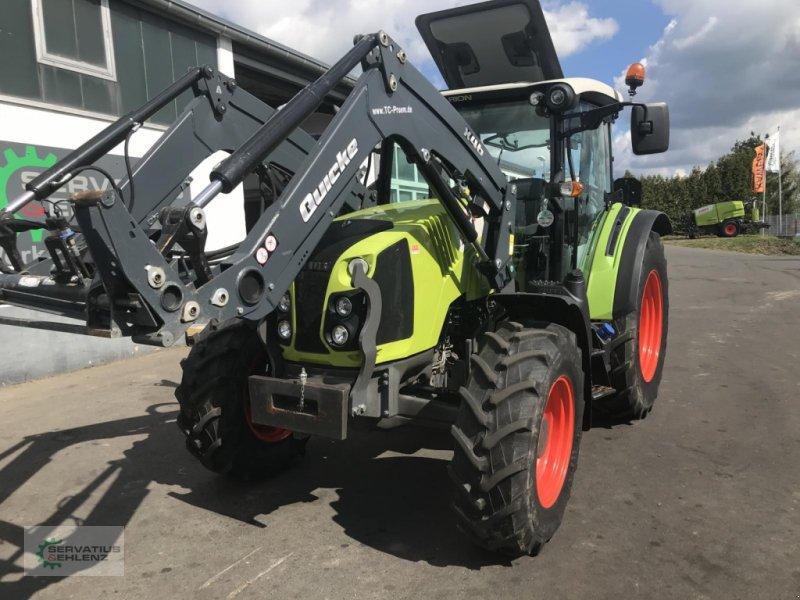 Traktor des Typs CLAAS ARION 410 90PS inkl. Frontlader, Gebrauchtmaschine in Prüm (Bild 3)