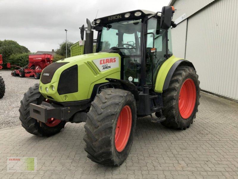 Traktor tipa CLAAS Arion 420 CIS, Gebrauchtmaschine u Risum-Lindholm (Slika 1)