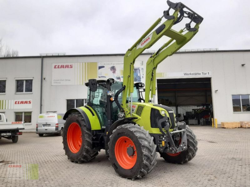 Traktor des Typs CLAAS ARION 460 CIS+ MIT FL 120, Vorführmaschine in Aurach (Bild 1)