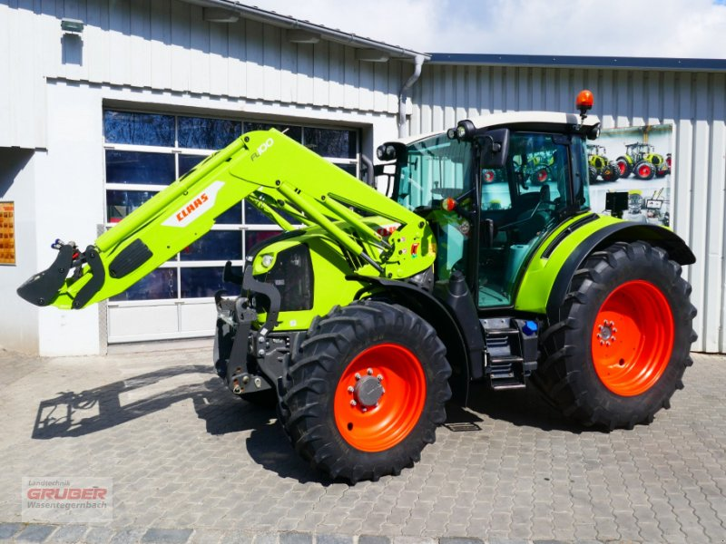 Traktor типа CLAAS ARION 460 CIS+ PANORAMIC + FRONTLADER, Gebrauchtmaschine в Dorfen (Фотография 1)