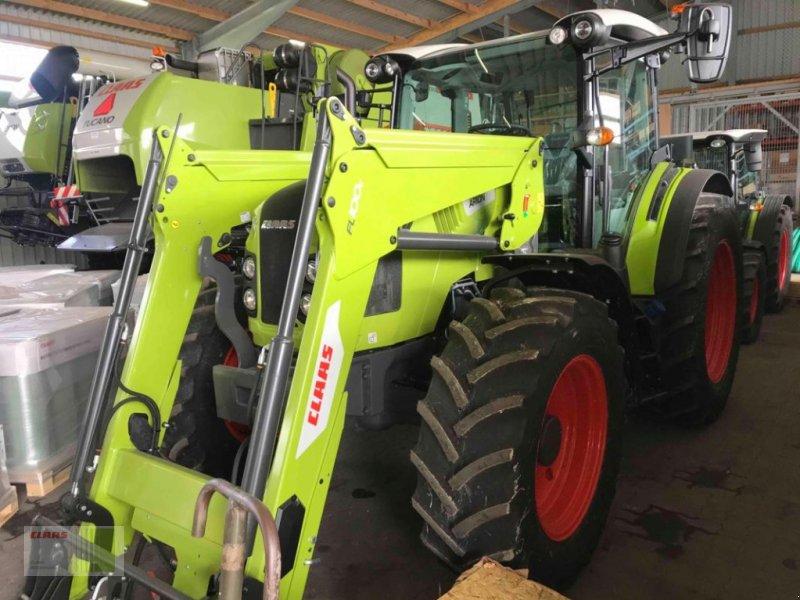 Traktor des Typs CLAAS ARION 460 CIS (Stage IV) + FL 100 C neu, Neumaschine in Sörup (Bild 1)