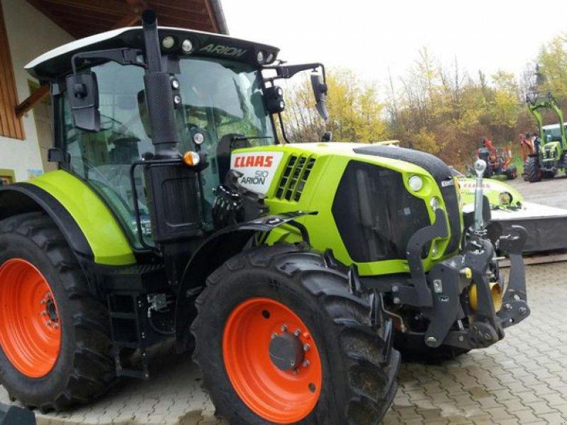 Traktor des Typs CLAAS ARION 510 CIS, Gebrauchtmaschine in Obersöchering (Bild 1)