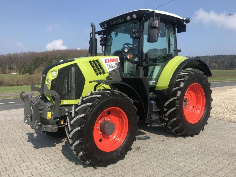 Traktor des Typs CLAAS ARION 510 Cmatic, Gebrauchtmaschine in Birgland (Bild 1)