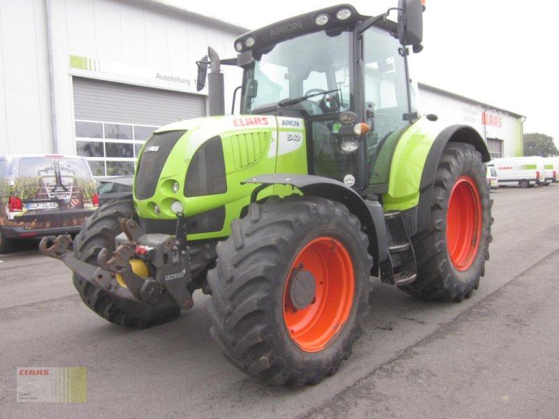 Traktor des Typs CLAAS ARION 540 CIS, FKH + FZW, Kriechgang !, Gebrauchtmaschine in Molbergen (Bild 1)