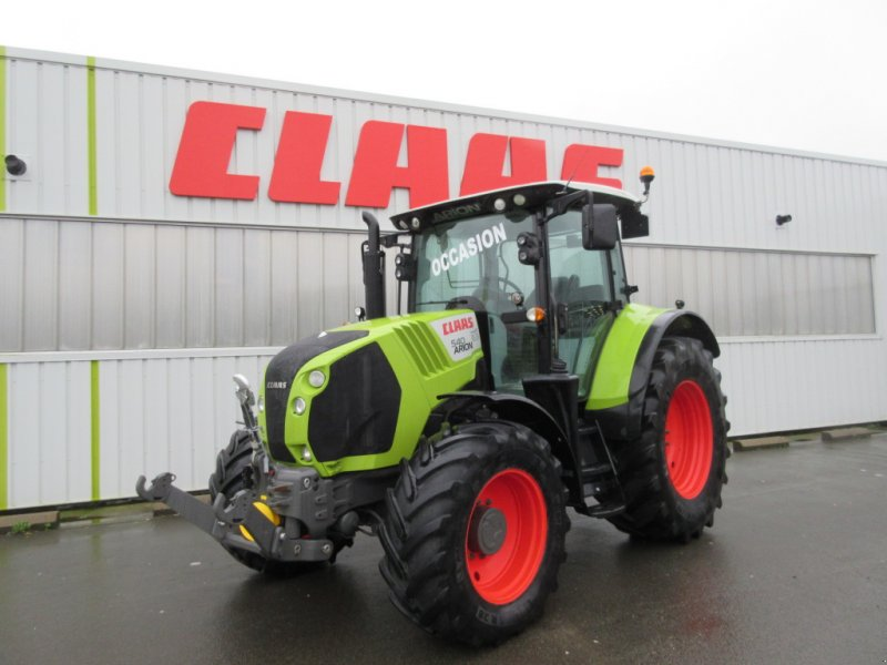 Traktor typu CLAAS ARION 540 CIS T4I, Gebrauchtmaschine w PLOUIGNEAU (Zdjęcie 1)