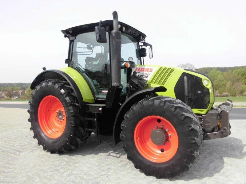 Traktor des Typs CLAAS ARION 550 CEBIS, Gebrauchtmaschine in Birgland (Bild 11)