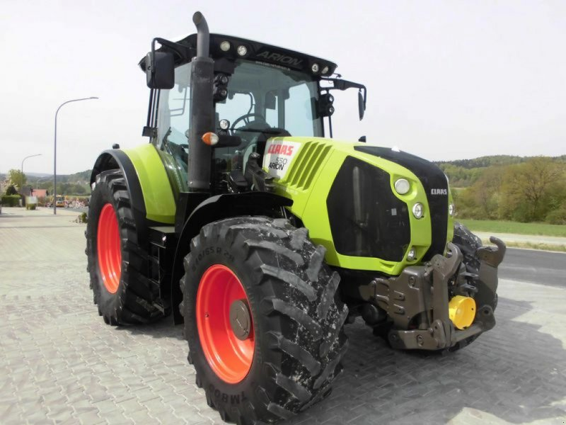 Traktor des Typs CLAAS ARION 550 CEBIS, Gebrauchtmaschine in Birgland (Bild 2)